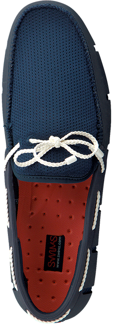 Blauwe SWIMS Loafers BREEZE WAVE LACE  - large