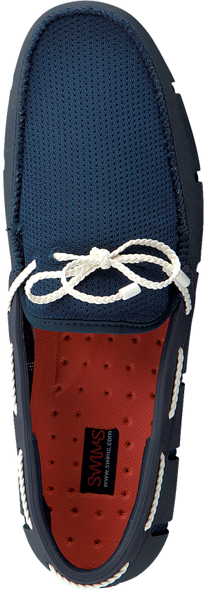 Blauwe SWIMS Loafers BREEZE WAVE LACE  - larger