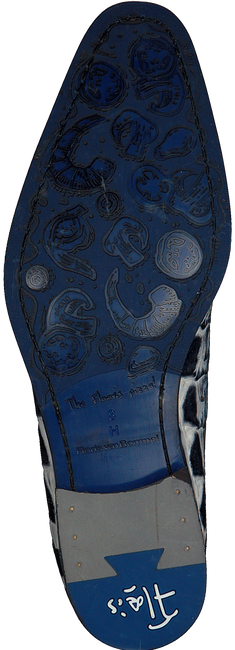 Zwarte FLORIS VAN BOMMEL Nette schoenen 18204  - large