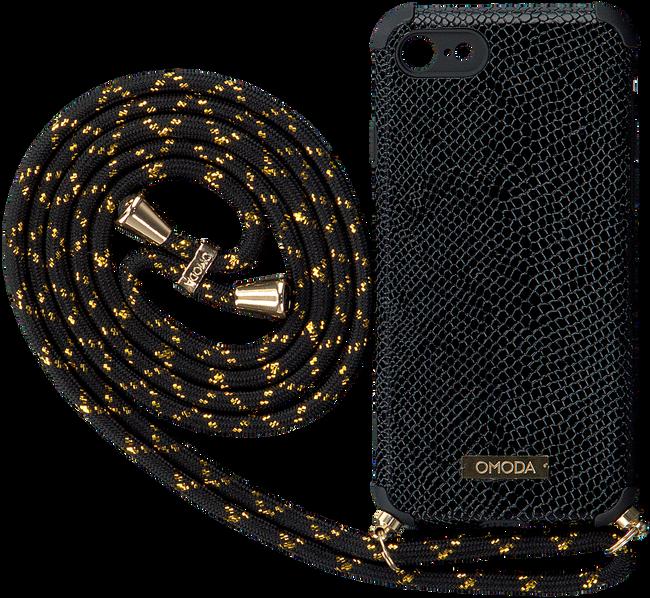 Zwarte OMODA Telefoonkoord 7/8 IPHONE KOORD  - large