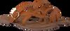 Cognac LAZAMANI Slippers 75.608  - small