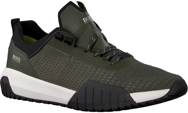 Groene BOSS Sneakers STORM RUNN  - large