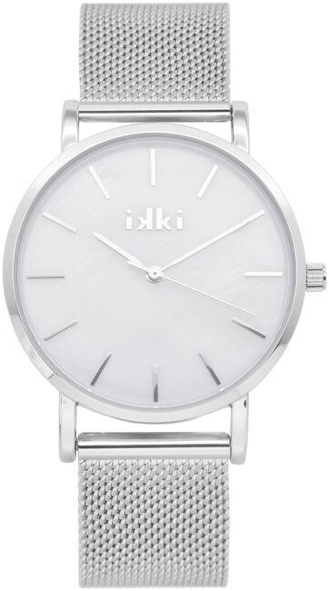 Zilveren IKKI Horloge VIDA - large