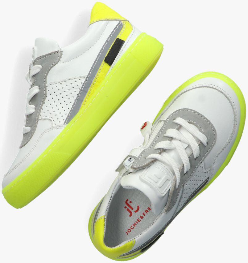 Witte JOCHIE & FREAKS Lage sneakers JF-21410  - larger