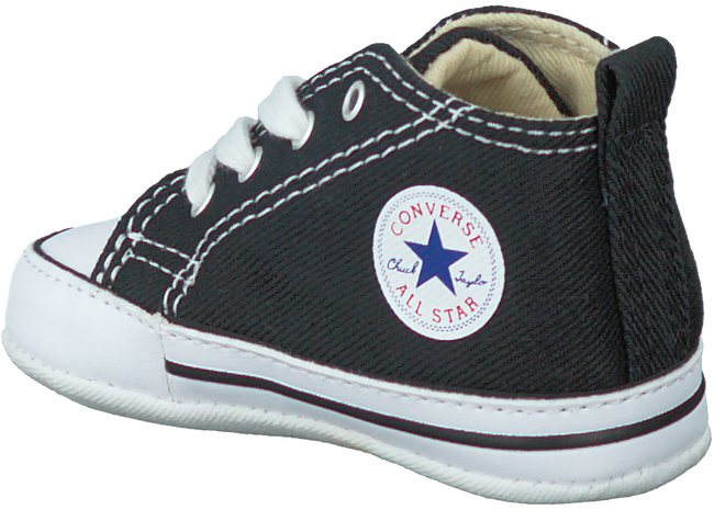 Zwarte CONVERSE Babyschoenen FIRST STAR  - large