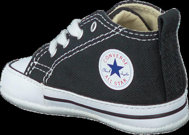 Zwarte CONVERSE Babyschoenen FIRST STAR  - large