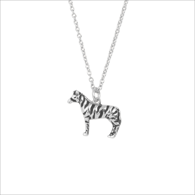 ATLITW STUDIO KETTING SOUVENIR NECKLACE ZEBRA - large