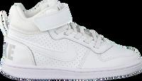Witte NIKE Sneakers COURT BOROUGH MID KIDS  - medium
