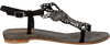 Zwarte LAZAMANI Sandalen 85.101  - small