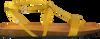 Gele FRED DE LA BRETONIERE Sandalen 170010065 gpfL7o5L