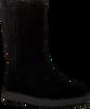 Zwarte UGG Vachtlaarzen CLASSIC SHORT BLVD  - small