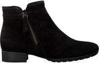 Zwarte GABOR Enkellaarsjes 718  - medium