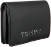 Zwarte TOMMY HILFIGER Portemonnee ITEM STATEMENT MED ZA  - small