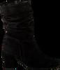 Zwarte GABOR Enkellaarsjes 611.1  - small