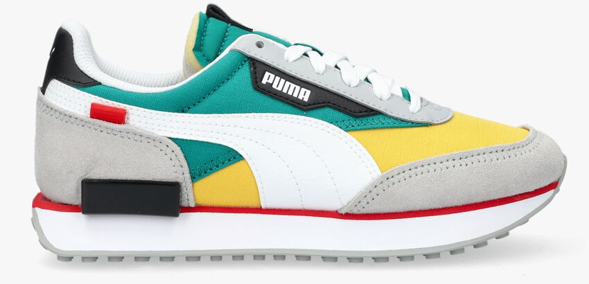 Gele PUMA Lage sneakers FUTURE RIDER PLAY ON JR  - larger