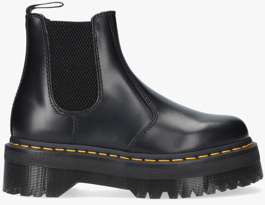 Zwarte DR MARTENS Chelsea boots 2976 QUAD  - larger