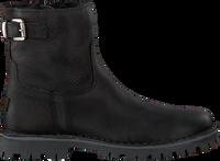 Zwarte GIGA Enkellaarsjes G3291  - medium