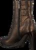 Bronzen NOTRE-V Enkellaarsjes 27436  - small