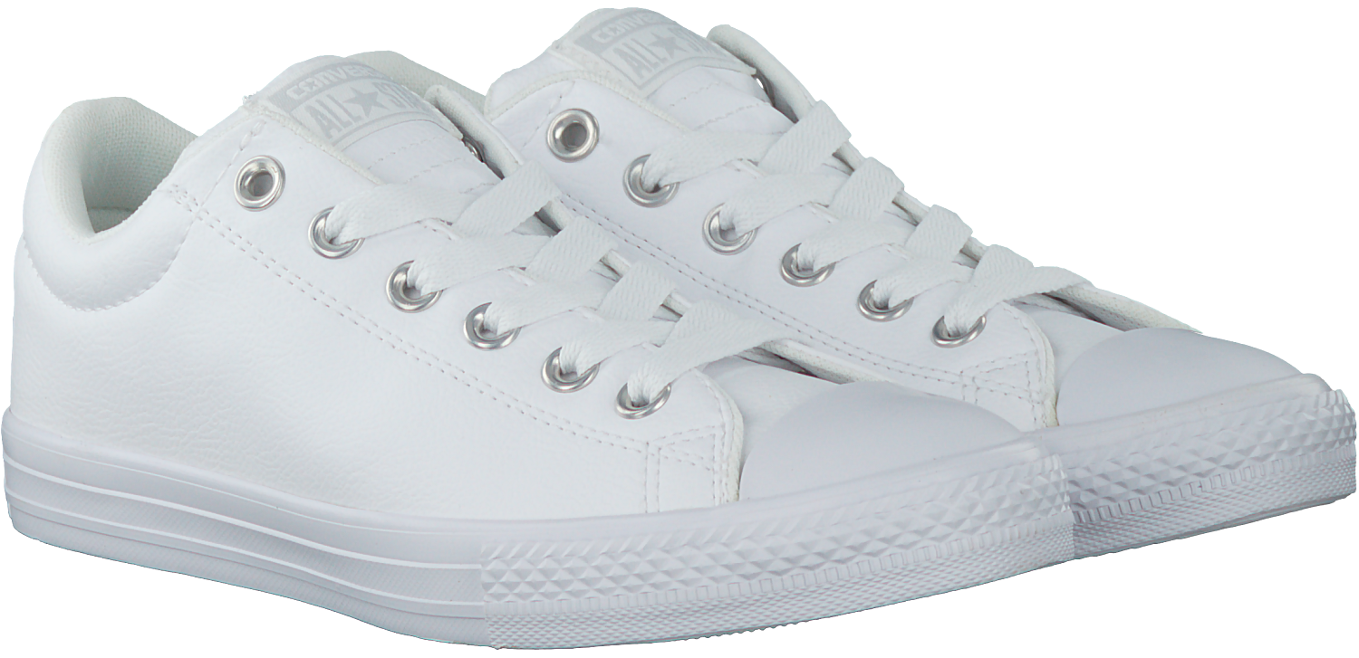 Witte CONVERSE Sneakers CHUCK TAYLOR ALL STAR STREET S | Omoda