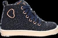 Blauwe TON & TON Hoge sneaker HANZEL  - medium