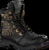 Zwarte REPLAY Biker boots RL260052L STAKE - small