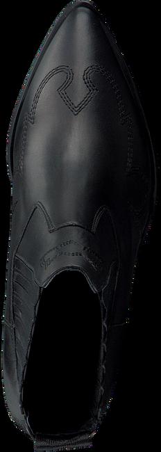 Zwarte NUBIKK Enkellaarsjes ROMEE CURA  - large