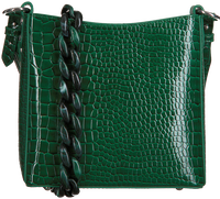 Groene HVISK Schoudertas AMBLE CROCO SMALL  - medium