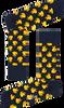 Zwarte HAPPY SOCKS Sokken RUBBER DUCK SOCK  - small