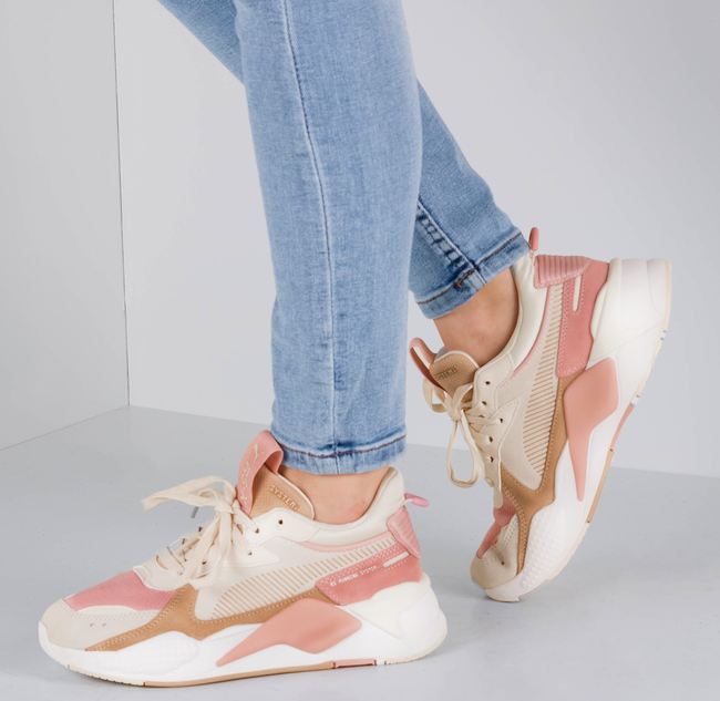 Roze PUMA Sneakers RS-X REINVENT WN'S  - large