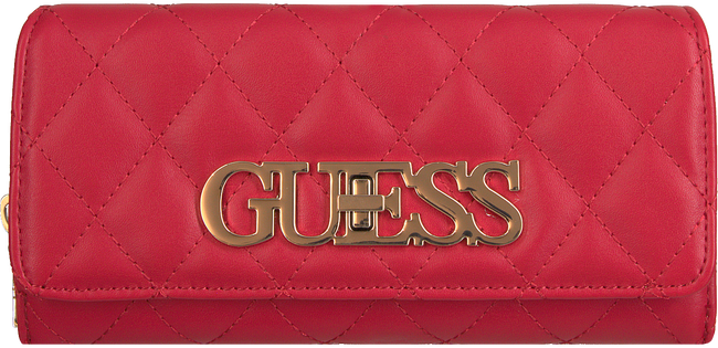 Rode GUESS Portemonnee SWEET CANDY SLG  - large