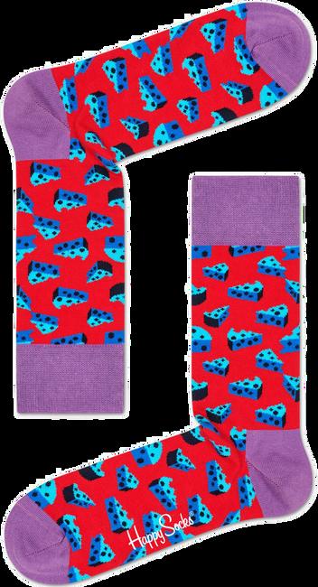 Rode HAPPY SOCKS Sokken CHEESE - large