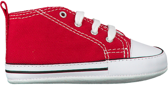 Rode CONVERSE Babyschoenen FIRST STAR  - large
