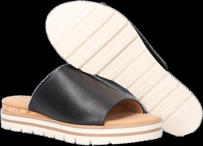 Zwarte GABOR Slippers 770.1  - large