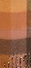 Bruine Yehwang Sjaal COLORED BLOCKS  - small