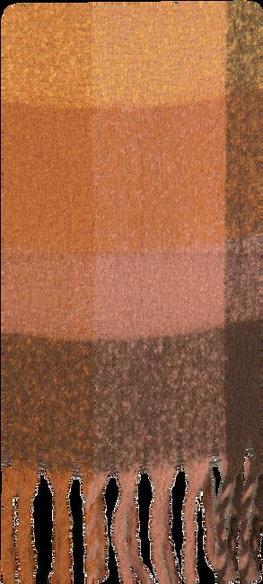 Bruine Yehwang Sjaal COLORED BLOCKS  - large