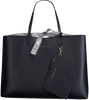 Zwarte TOMMY HILFIGER Handtas ICONIC TOMMY TOTE CB - small