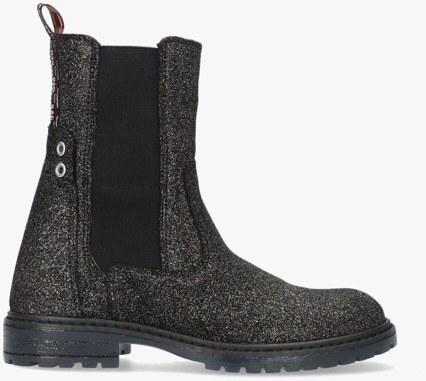 Zilveren RED-RAG Chelsea boots 12118  - larger
