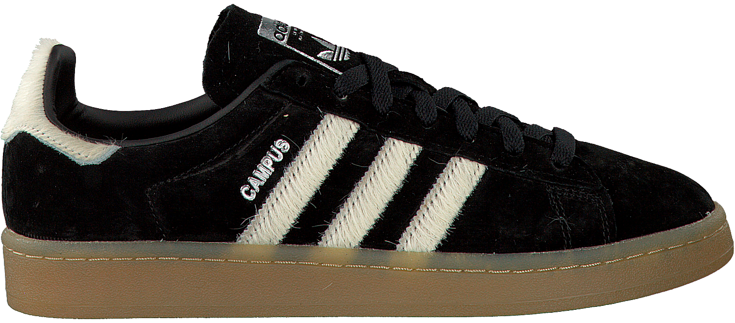 separation shoes 0204c 420ef Zwarte ADIDAS Sneakers CAMPUS DAMES - Omoda.nl