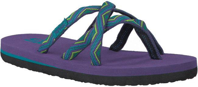 Paarse TEVA Slippers OLOWAHU KIDS  - large