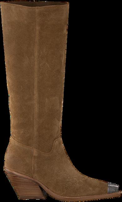 Bruine BRONX Lange laarzen LOW-KOLE 14186  - large