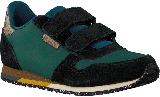 Groene WODEN WONDER Sneakers AXEL SUEDE - large