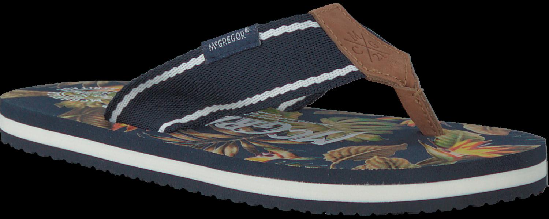 Mcgregor Blauwe Mcgregor Pantoufles Palmbeach zI532fw
