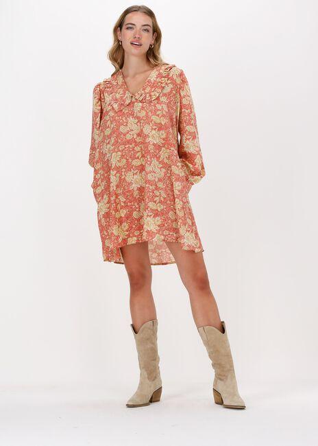 Oranje SISSEL EDELBO Midi jurk BERLIN DRESS - large