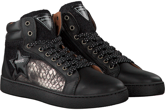 Zwarte DEVELAB Sneakers 41472  - large