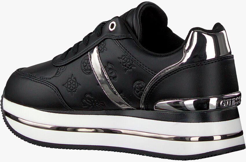 Zwarte GUESS Lage sneakers DAFNEE  - larger