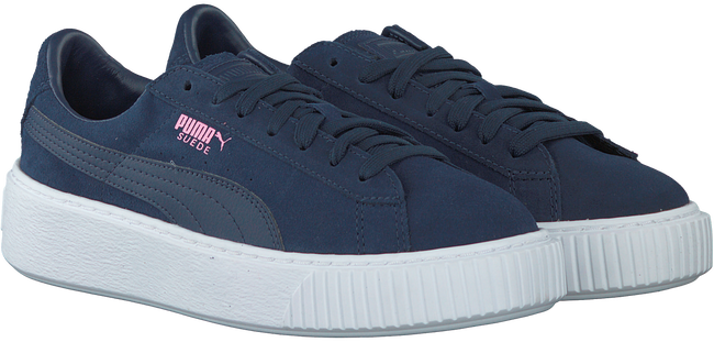 PUMA SNEAKERS SUEDE PLATFORM JR - large