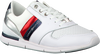 Witte TOMMY HILFIGER Sneakers LIGHT WEIGHT LEATHER SNEAKER  - small