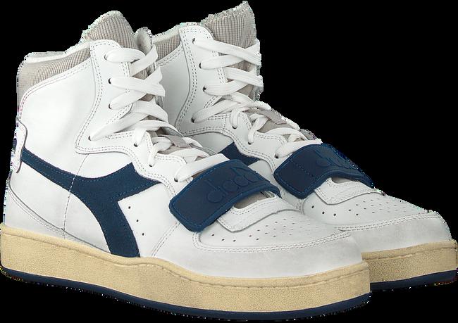 Witte DIADORA Hoge sneaker MI BASKET USED  - large