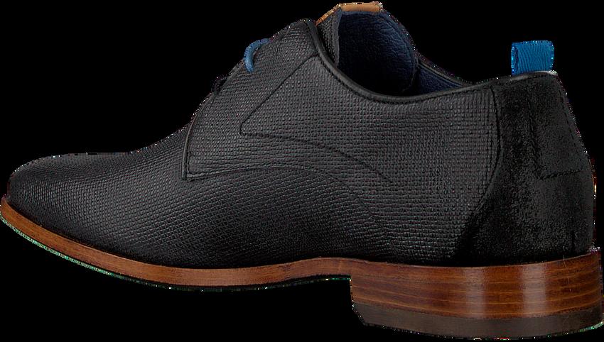 Zwarte REHAB Nette schoenen GREG WALL 02  - larger