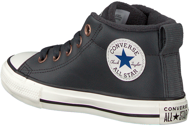 Zwarte CONVERSE Sneakers STREET RED ROVER-MID  - large